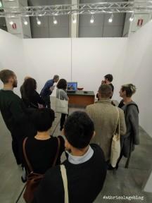 Jimmi Durham ,Arte Fiera 2020, Bologna - ph. Amalia Temperini