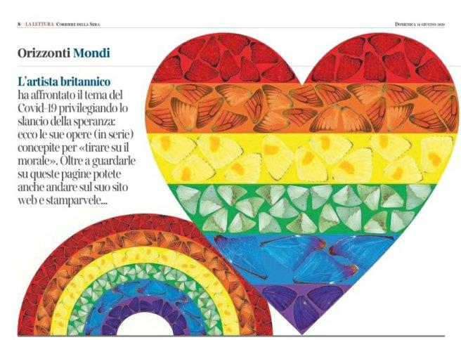 La Lettura, Corriere della Sera,13 giugno 2020 - screeshot amalia temperini