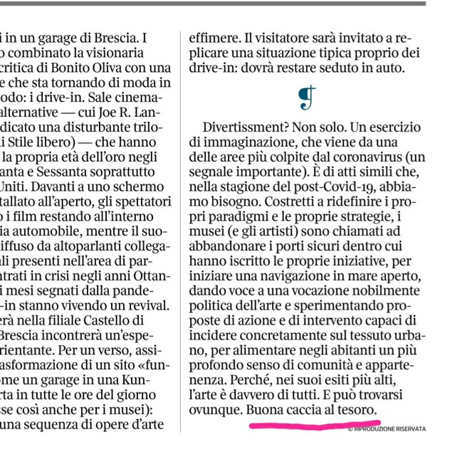 la lettura, vicenzo trione, screenshot