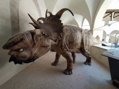 Extinction - Dinosauri in carne e ossa #Gubbio, Monastero di San Benedetto -ph Amalia Temperini