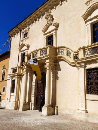 L'Aquila, Palazzo Ardinghelli ph. Amalia Temperini
