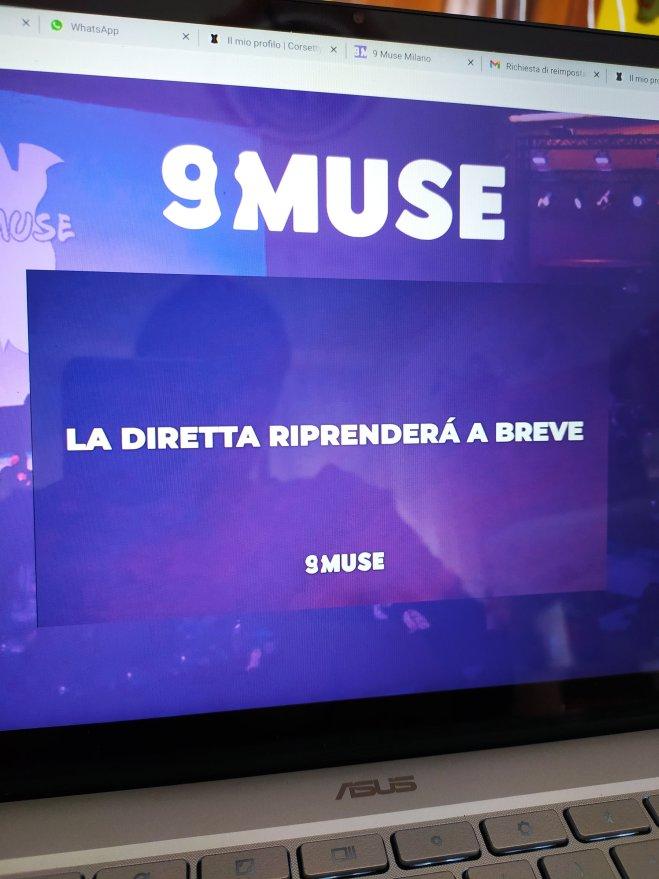 9 muse milano live streaming spora - ph. Amalia Temperini