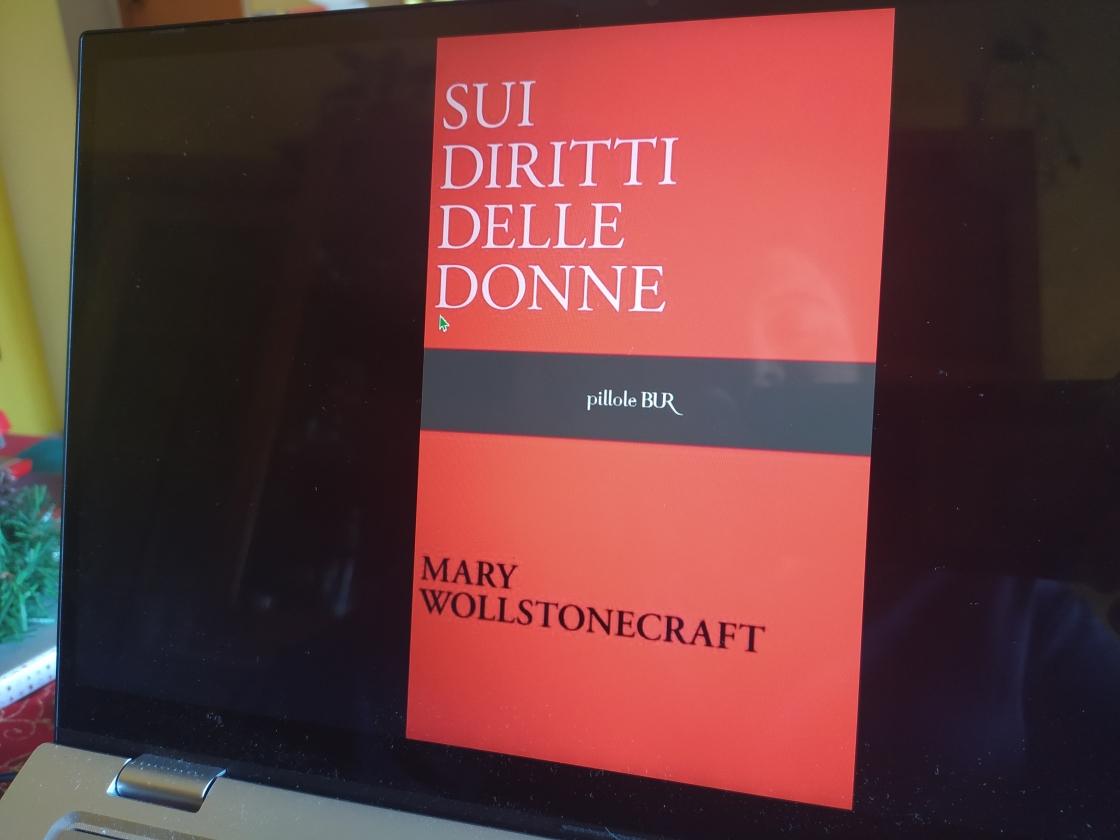 Sui diritti delle donne - Mary Wollstonecraft - ph. Amalia Temperini