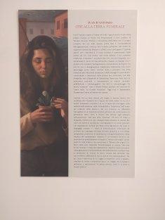 Ode alla terra. Funerale. Mostra personale di Ivan D'Antonio Arca - Laboratorio per le arti contemporanee - Teramo.