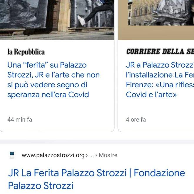 mix notizie, screensho jr -firenze- palazzo strozzi - AT