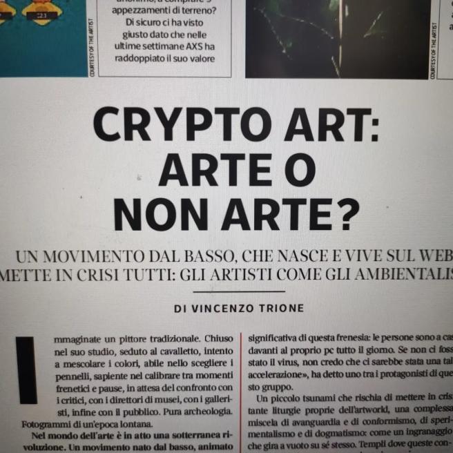 Articolo di Vincenzo Trione, 7 - Corriere della sera, 23 luglio 2021