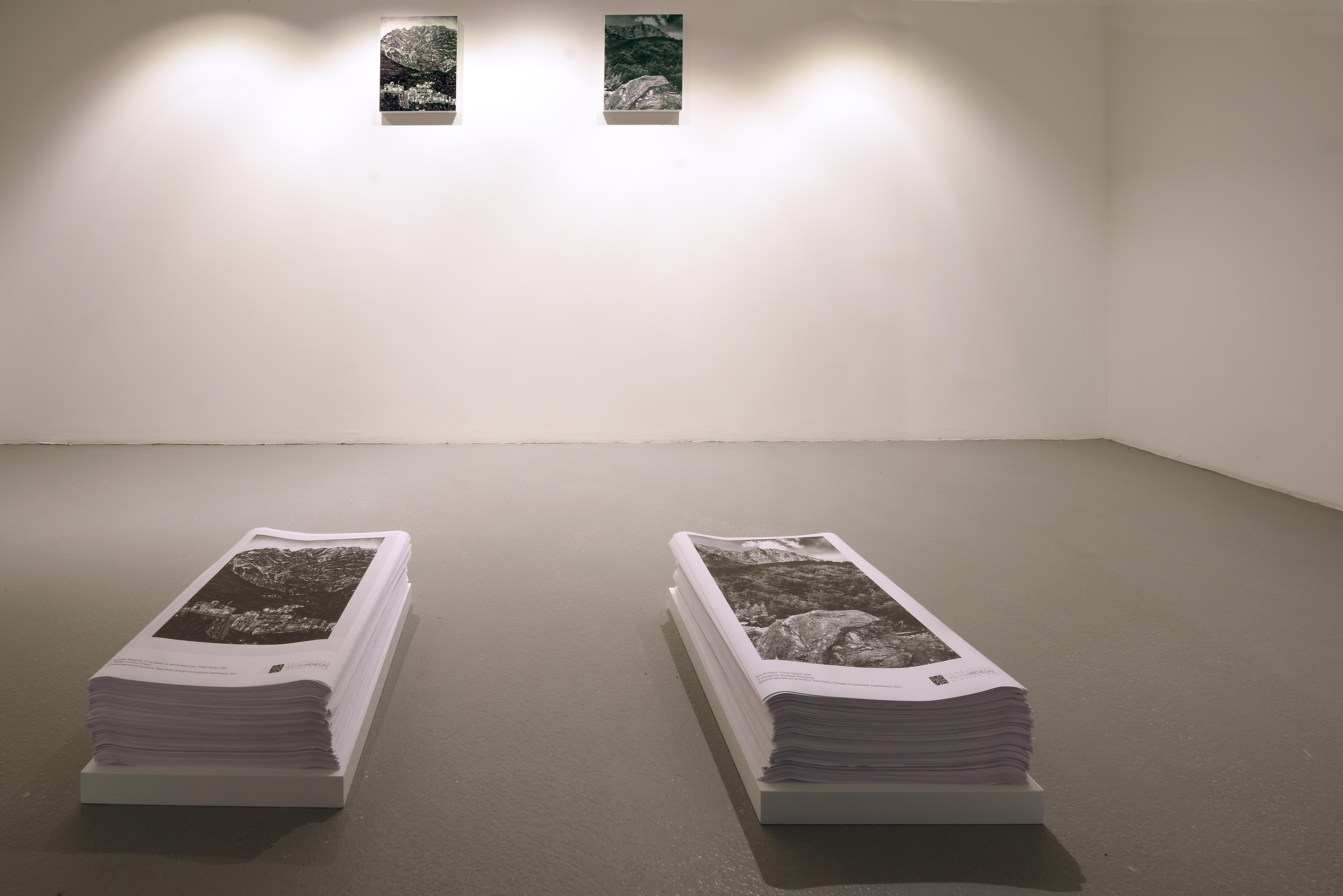 Giuseppe Stampone - Gino Di Paolo - Paso Doble, Dialoghi sul possibile - Fondazione Malvina Menegaz, Castelbasso (TE) - ph. Gino Di Paolo