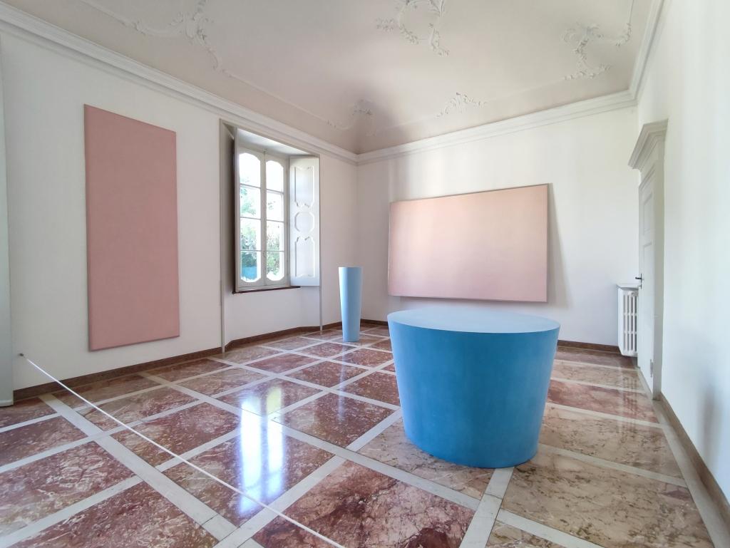 Ettore Spalletti, Collezione Villa Panza, Varese - ph. Amalia Temperini