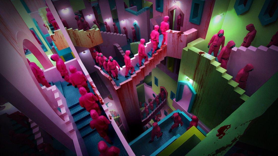 squid game, serie tv netflix - immagine presa dal web